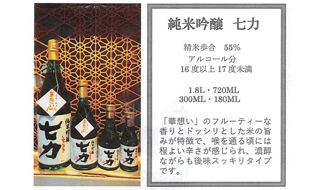 純米吟醸七力・津軽の地酒豊盃