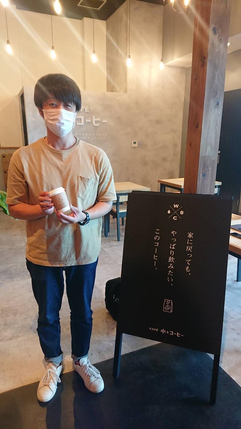 CAFÉ水とコーヒー新青森駅店